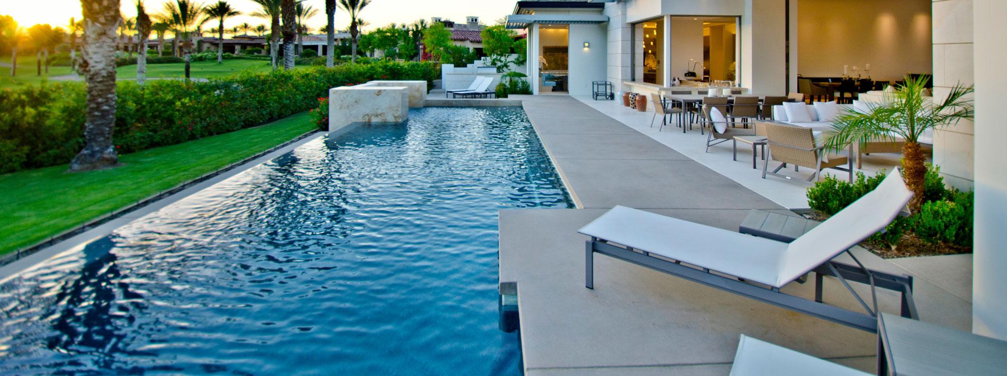 The benefits of building a backyard pool azure pools for Spa and pool